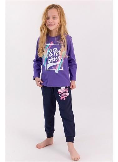 U.S. Polo Assn. Pijama Takım Mor